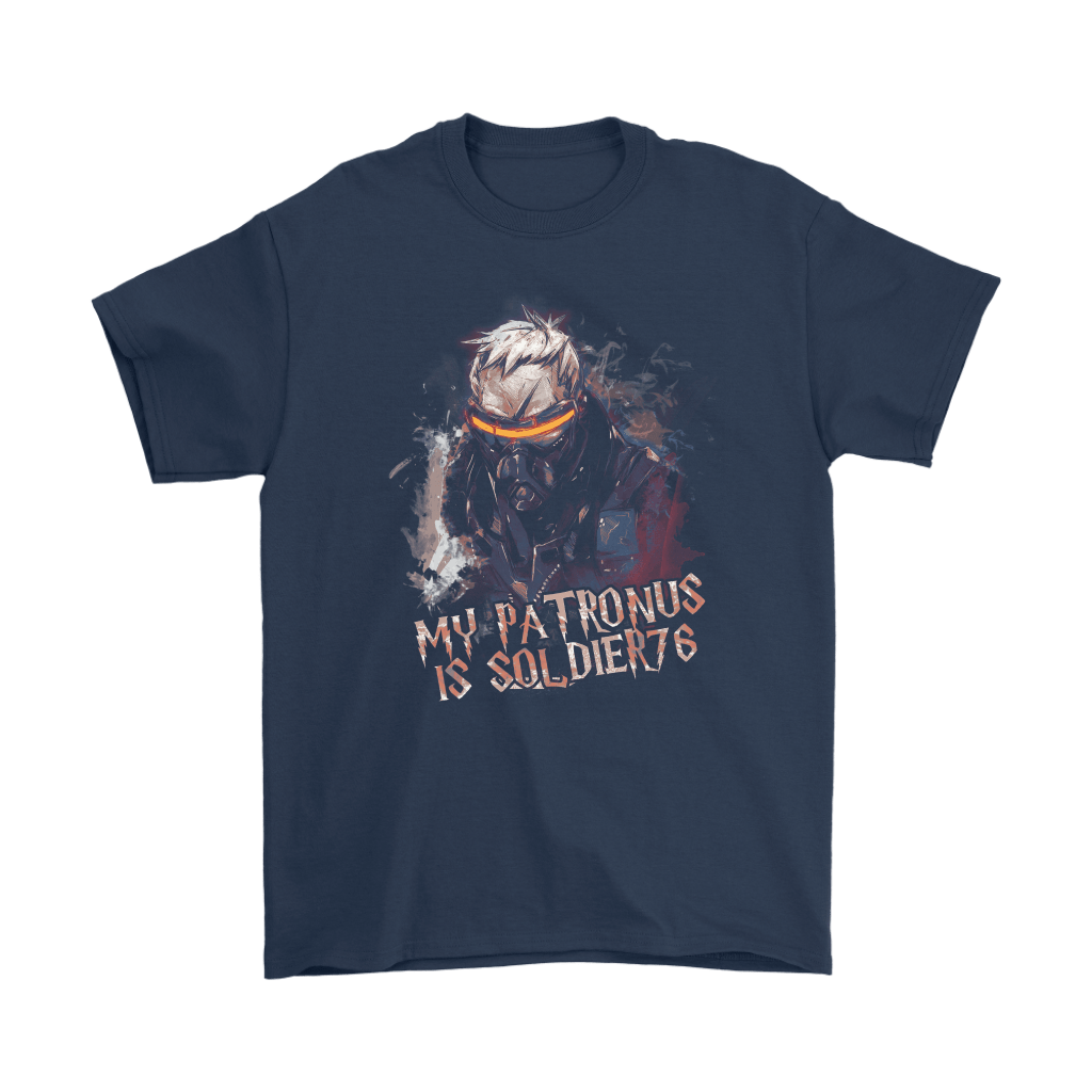 My Patronus Is Soldier 76 Overwatch Harry Potter Mashup Shirts 3