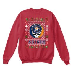 Houston Astros x Grateful Dead Christmas Ugly Sweater 11