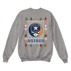Houston Astros x Grateful Dead Christmas Ugly Sweater 13