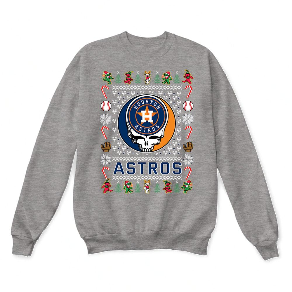Houston Astros x Grateful Dead Christmas Ugly Sweater 7