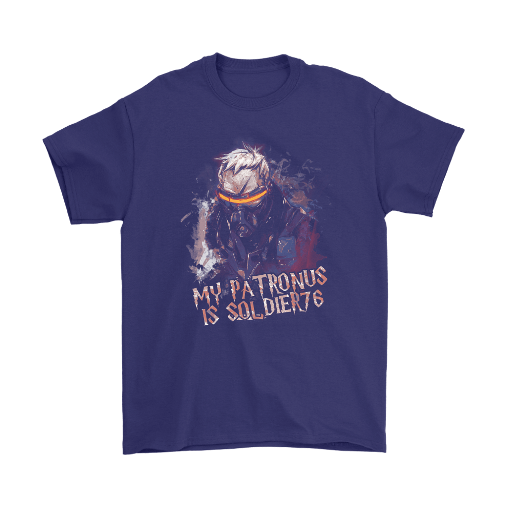 My Patronus Is Soldier 76 Overwatch Harry Potter Mashup Shirts 4
