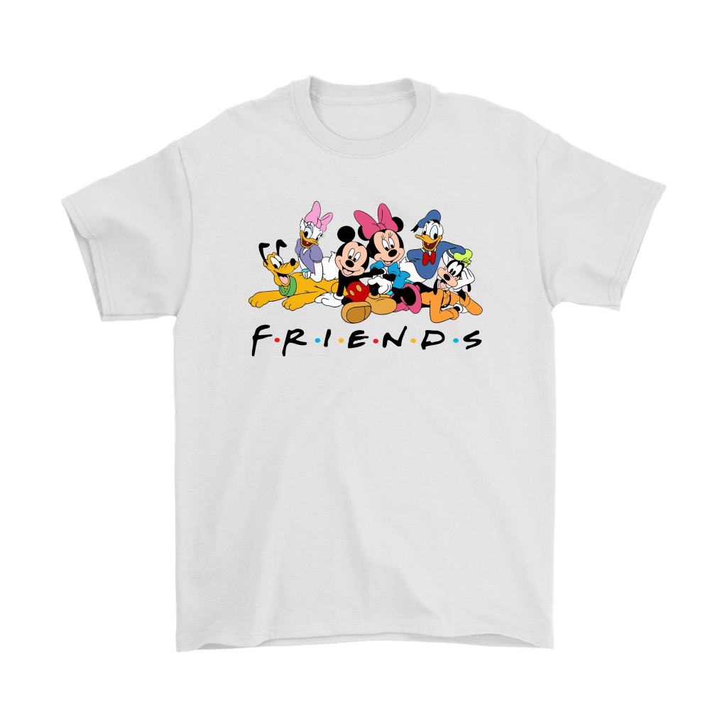 Disney F.R.I.E.N.D.S Mickey Mouse And Friends Shirts 1