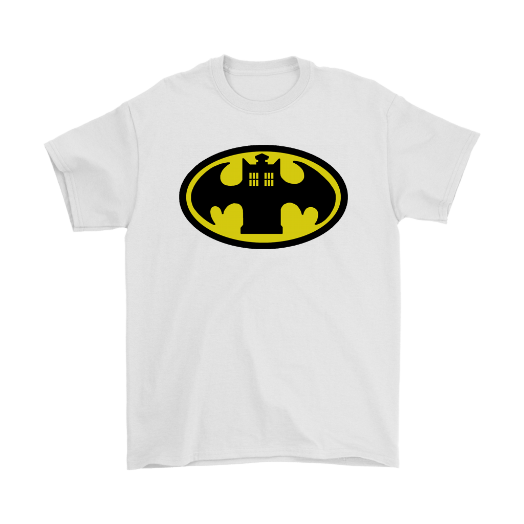 Doctor Who Tardis And Batman Logo Mashup Shirts 7
