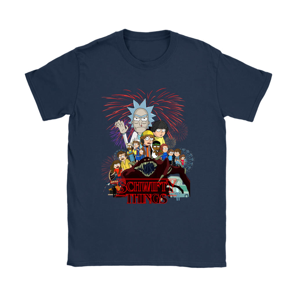 Rick And Morty Stranger Things Schwifty Things Shirts 7