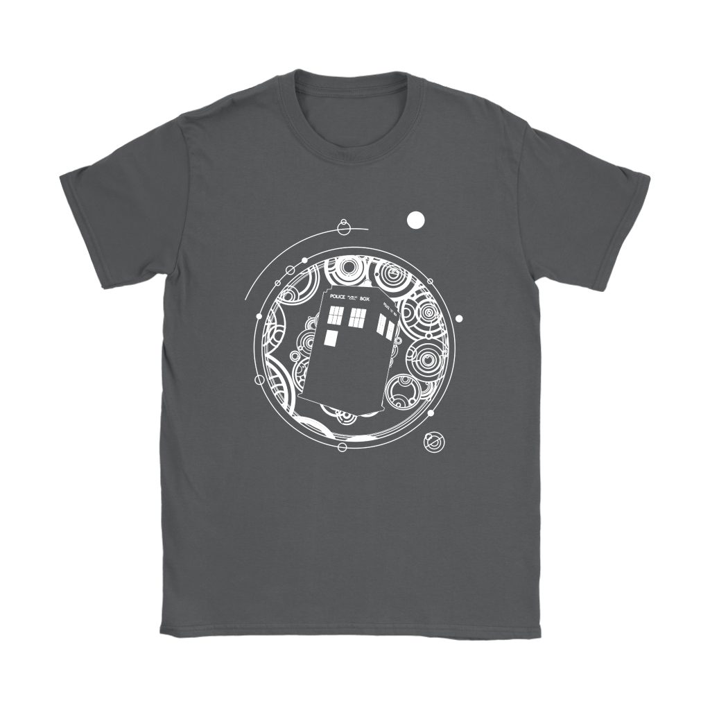 Police Box Tardis Through Space And Time Doctor Who Shirts 7