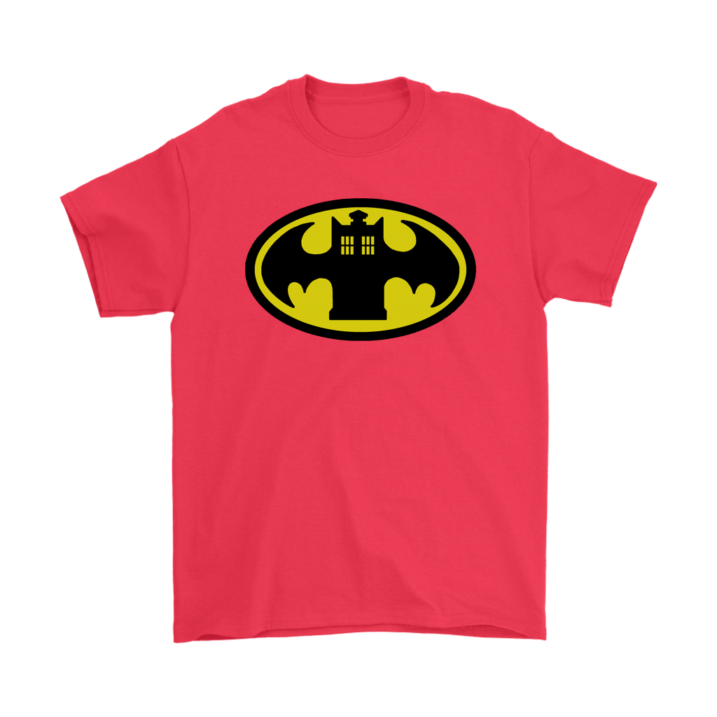 Doctor Who Tardis And Batman Logo Mashup Shirts 4