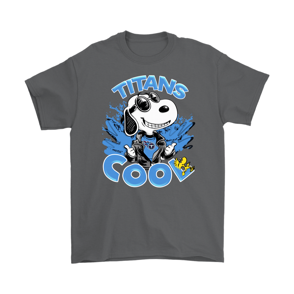 Tennessee Titans Snoopy Joe Cool We're Awesome Shirts 2