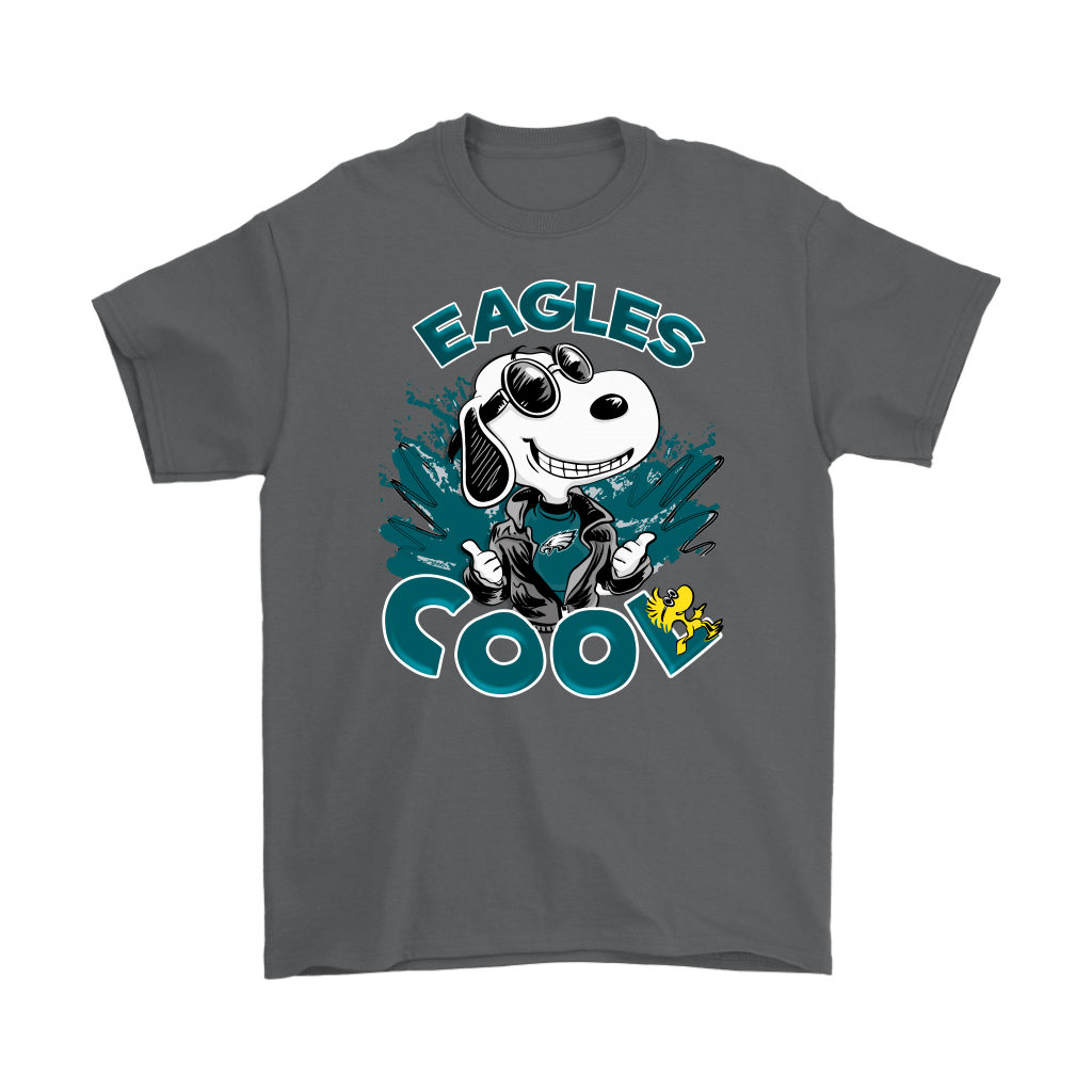 Philadelphia Eagles Snoopy Joe Cool We're Awesome Shirts 2