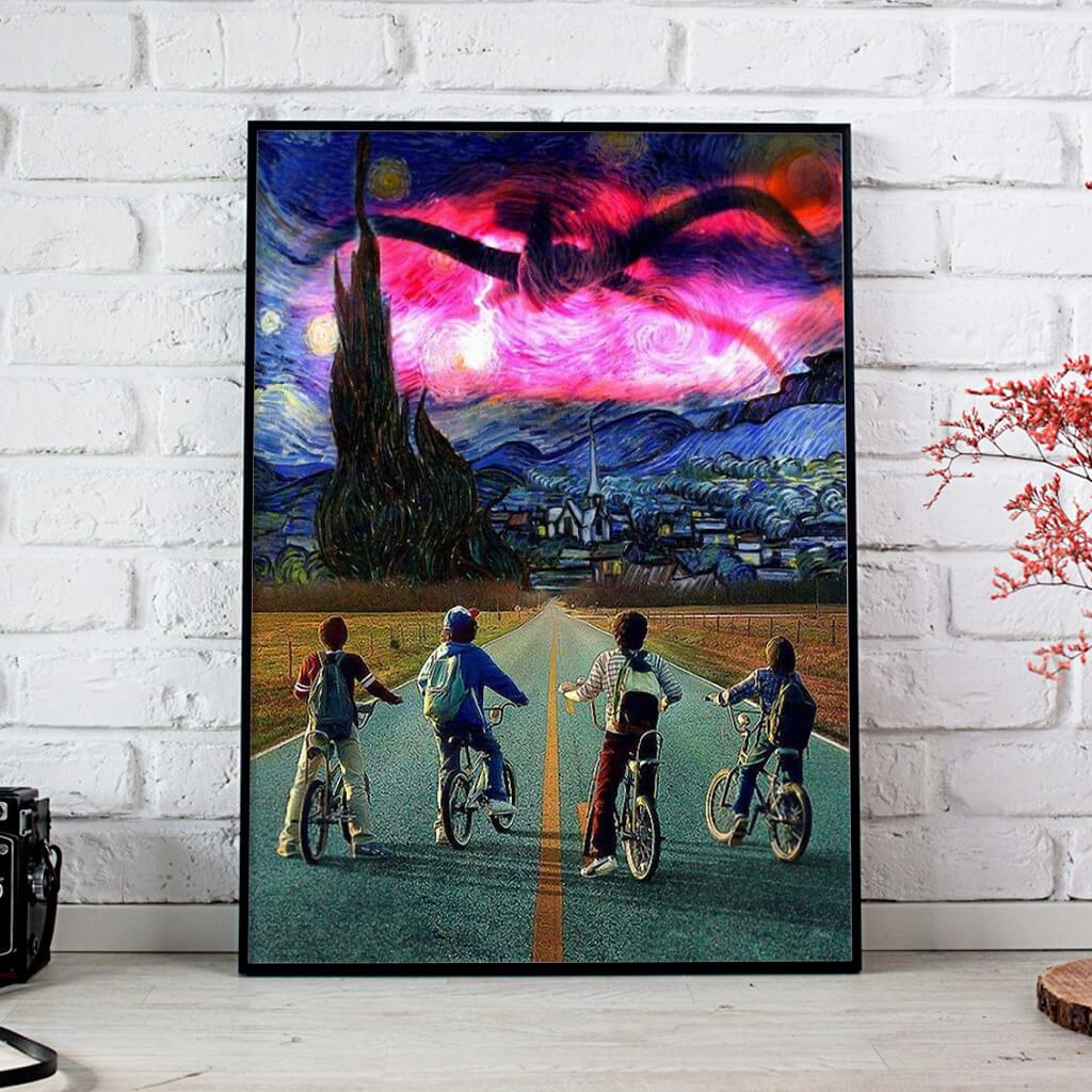 Season 2 Stranger Things The Mind Flayer Posters 1
