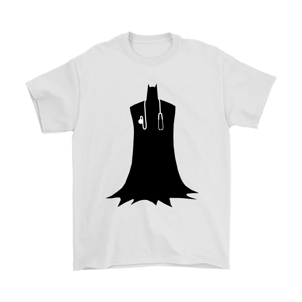Single-head Stethoscope Doctor Batman Shirts 1