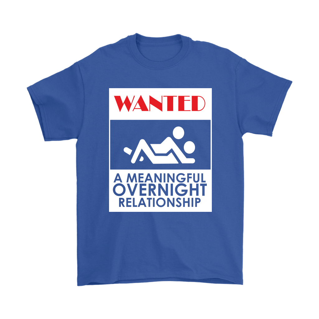 WANTED A Meaningful Overnight Relationship Stick Figure Shirts 5