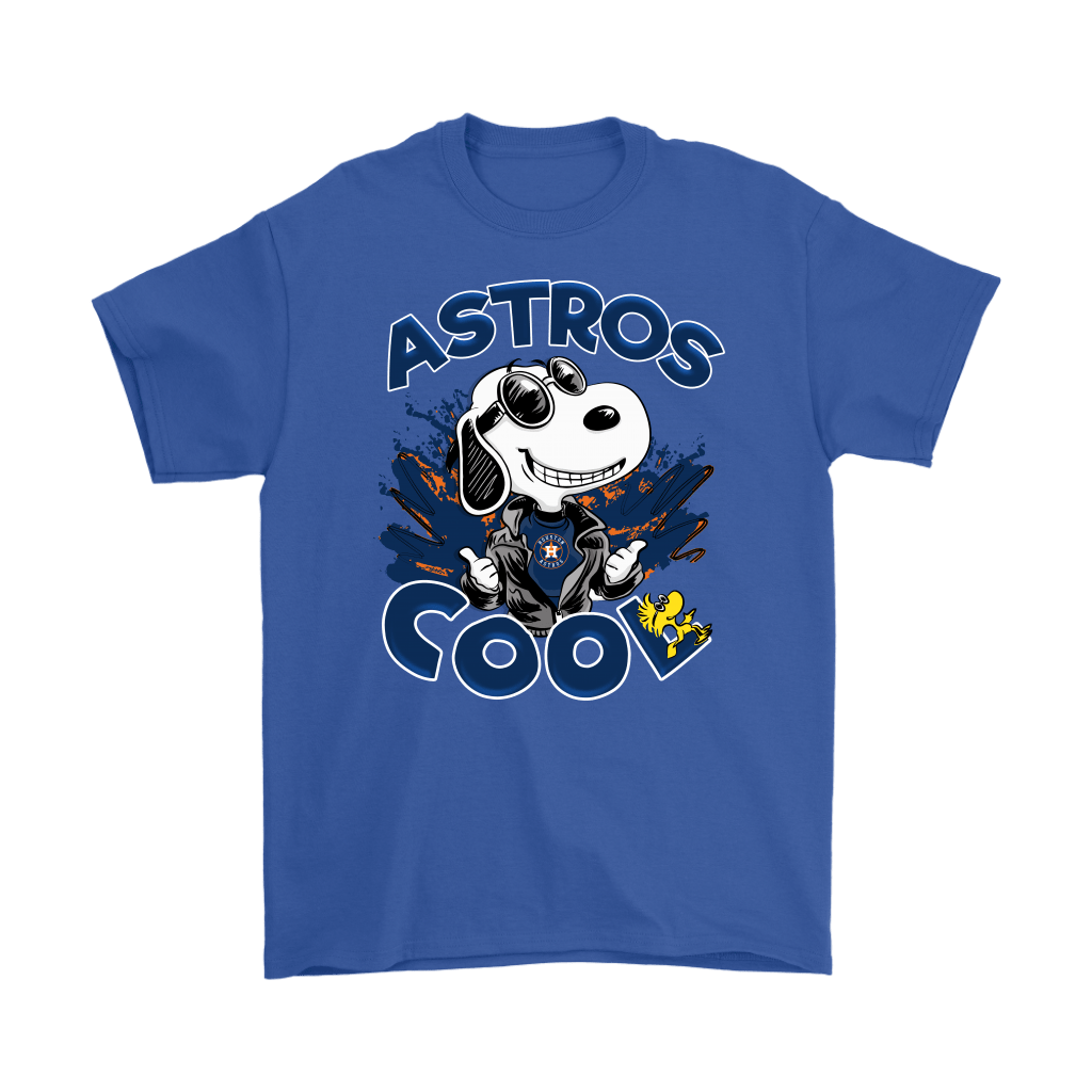 Houston Astros Snoopy Joe Cool We're Awesome Shirts 6