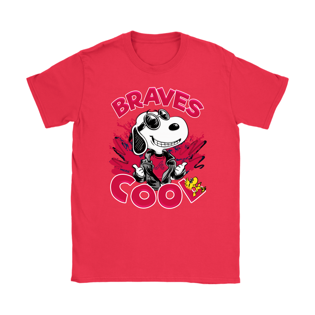 Atlanta Braves Snoopy Joe Cool We're Awesome Shirts 12