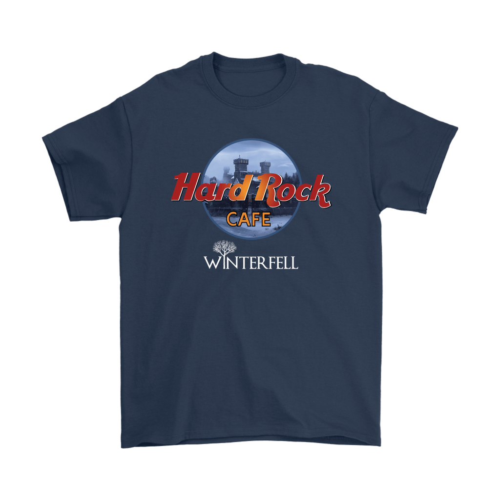Hard Rock Cafe Winterfell Game Of Thrones Shirts 3