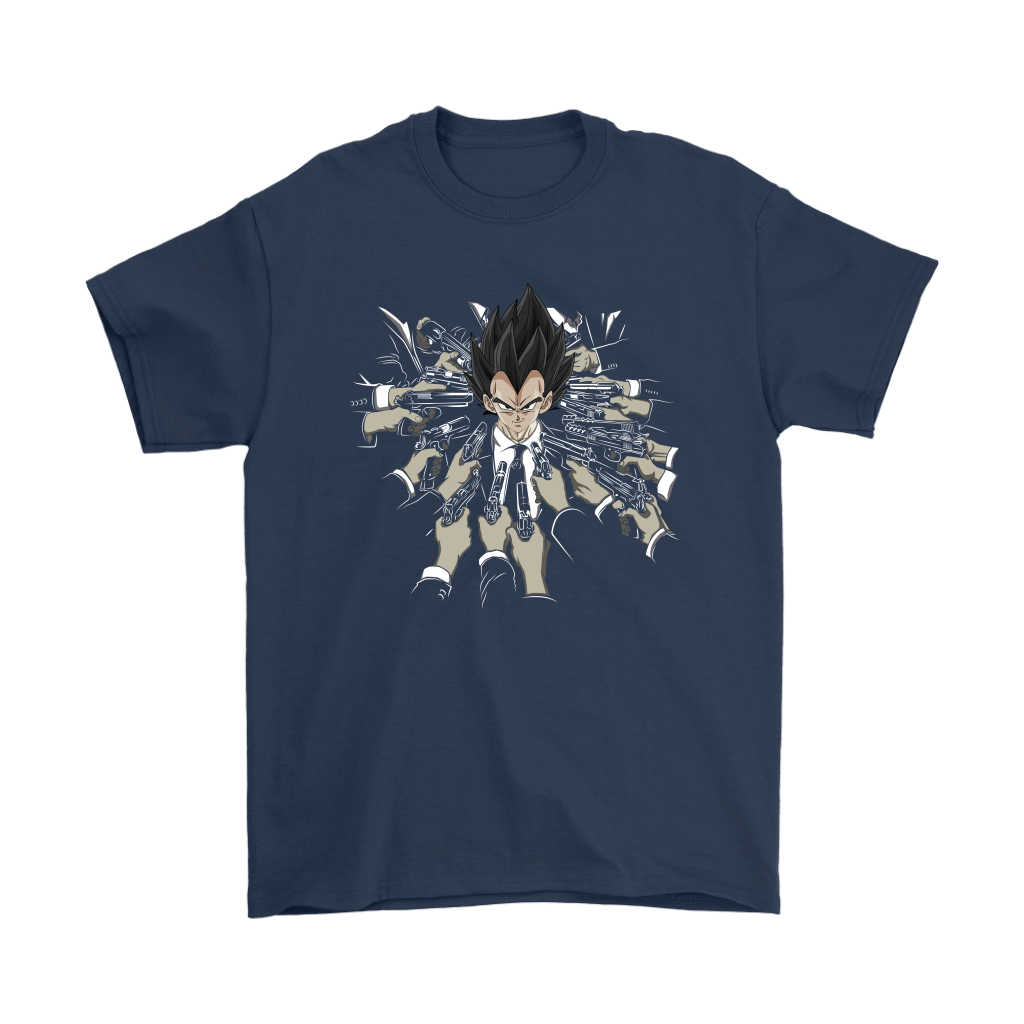 Vegeta Dragon Ball John Wick Shirts 3