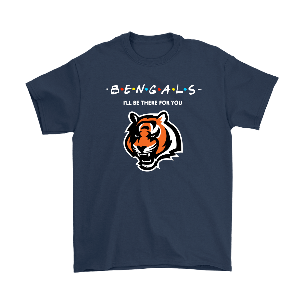 I'll Be There For You Cincinnati Bengals FRIENDS Movie NFL Shirts 3