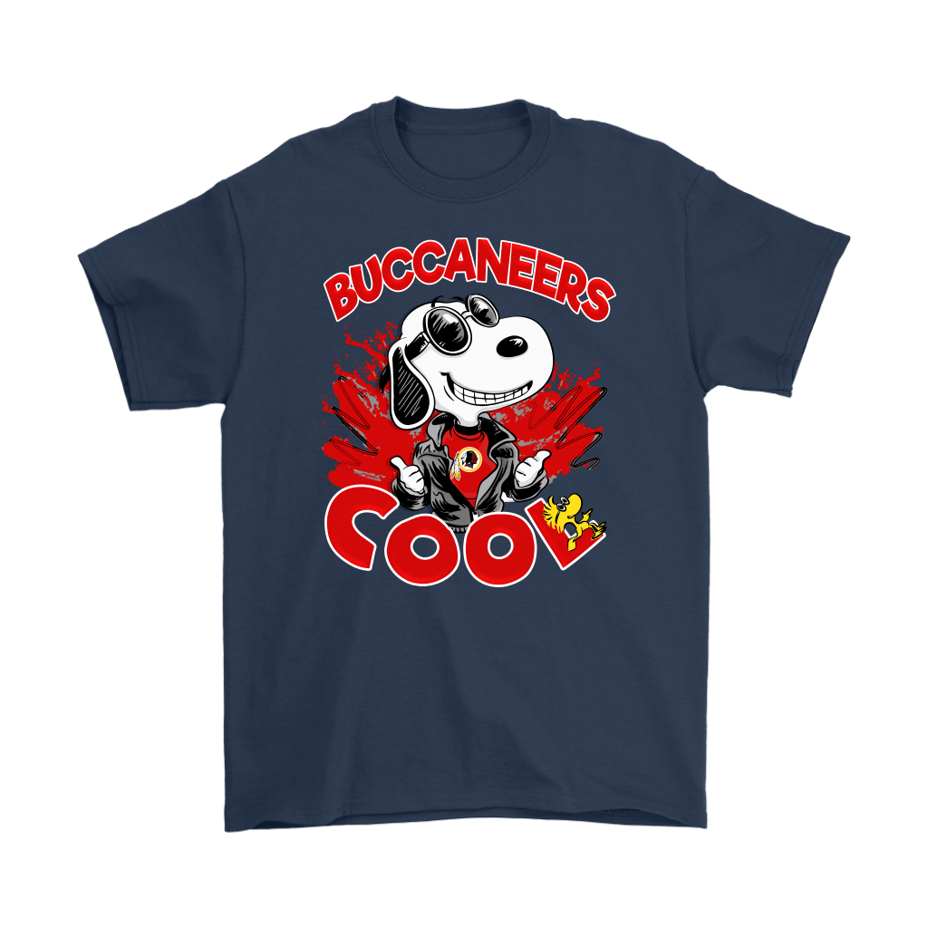 Tampa Bay Buccaneers Snoopy Joe Cool We're Awesome Shirts 3