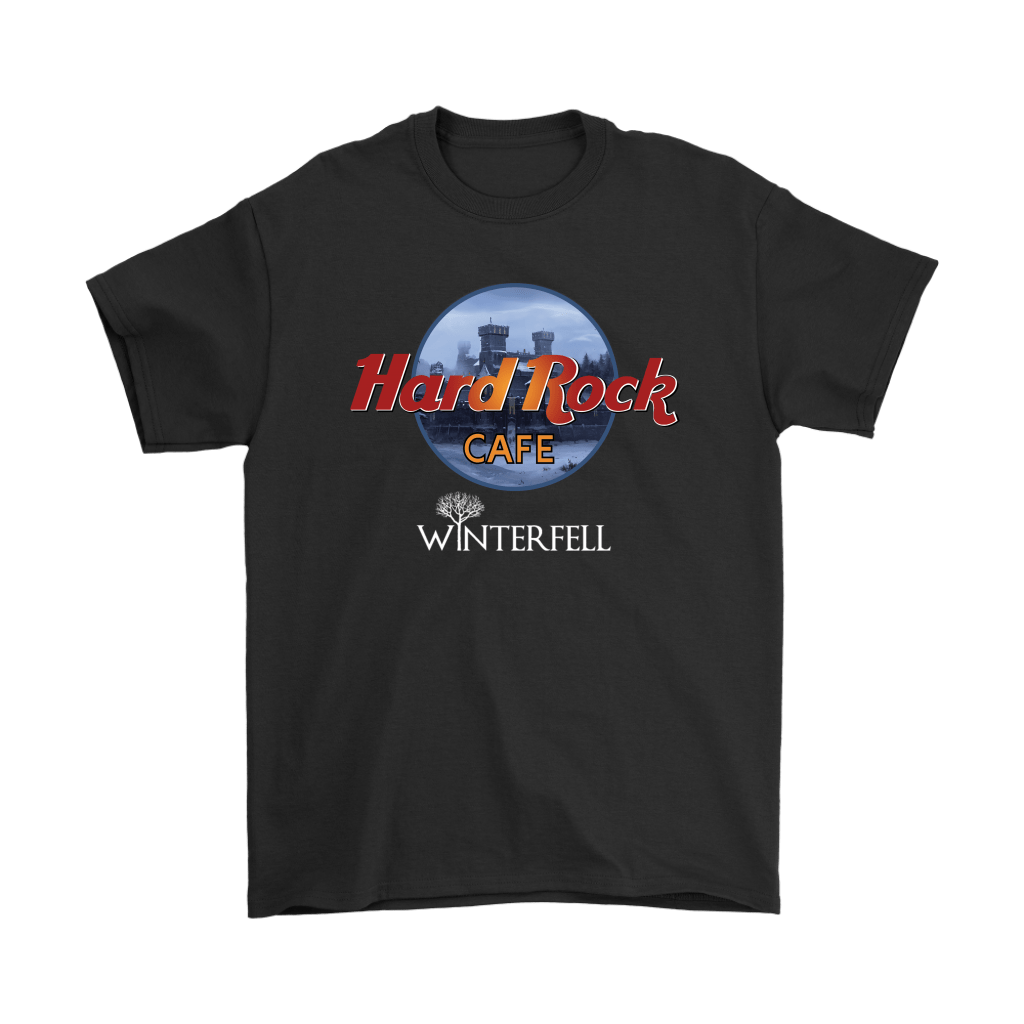 Hard Rock Cafe Winterfell Game Of Thrones Shirts 1