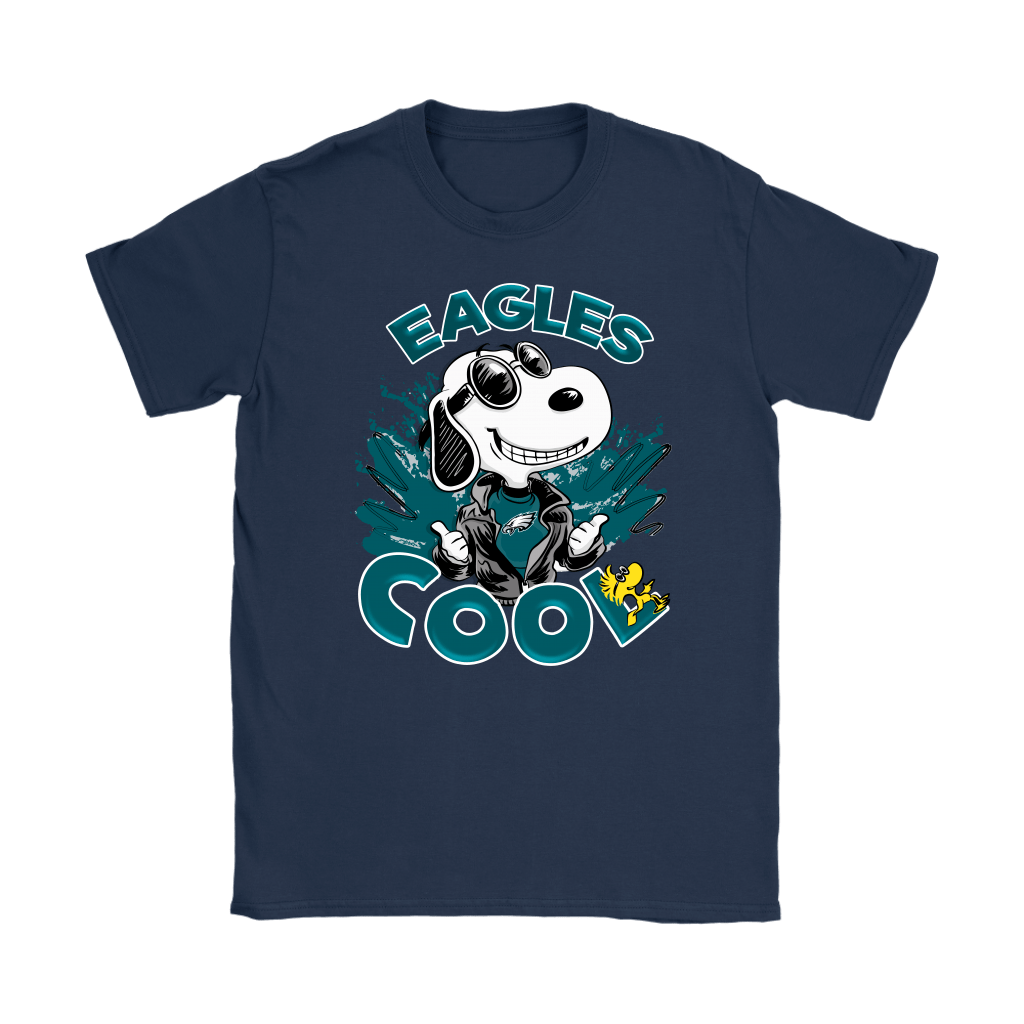 Philadelphia Eagles Snoopy Joe Cool We're Awesome Shirts 10