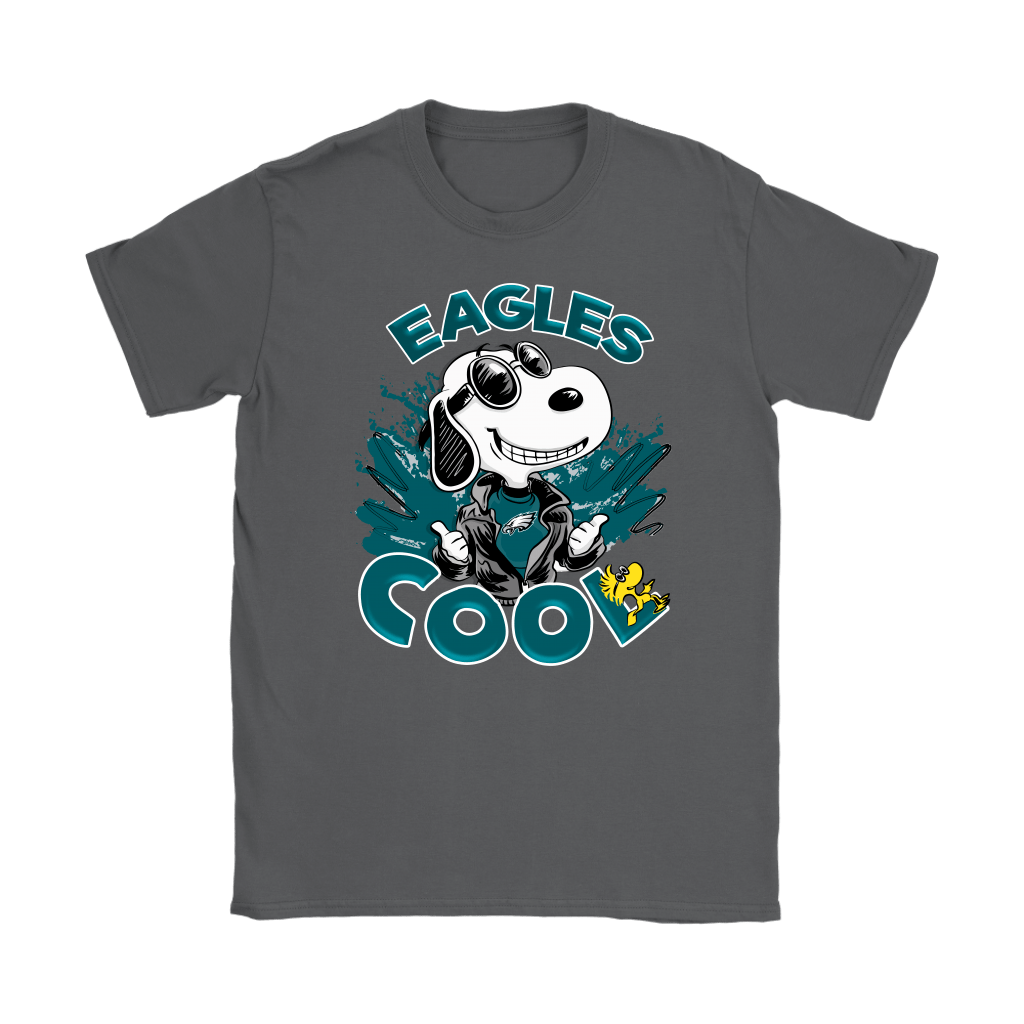 Philadelphia Eagles Snoopy Joe Cool We're Awesome Shirts 9