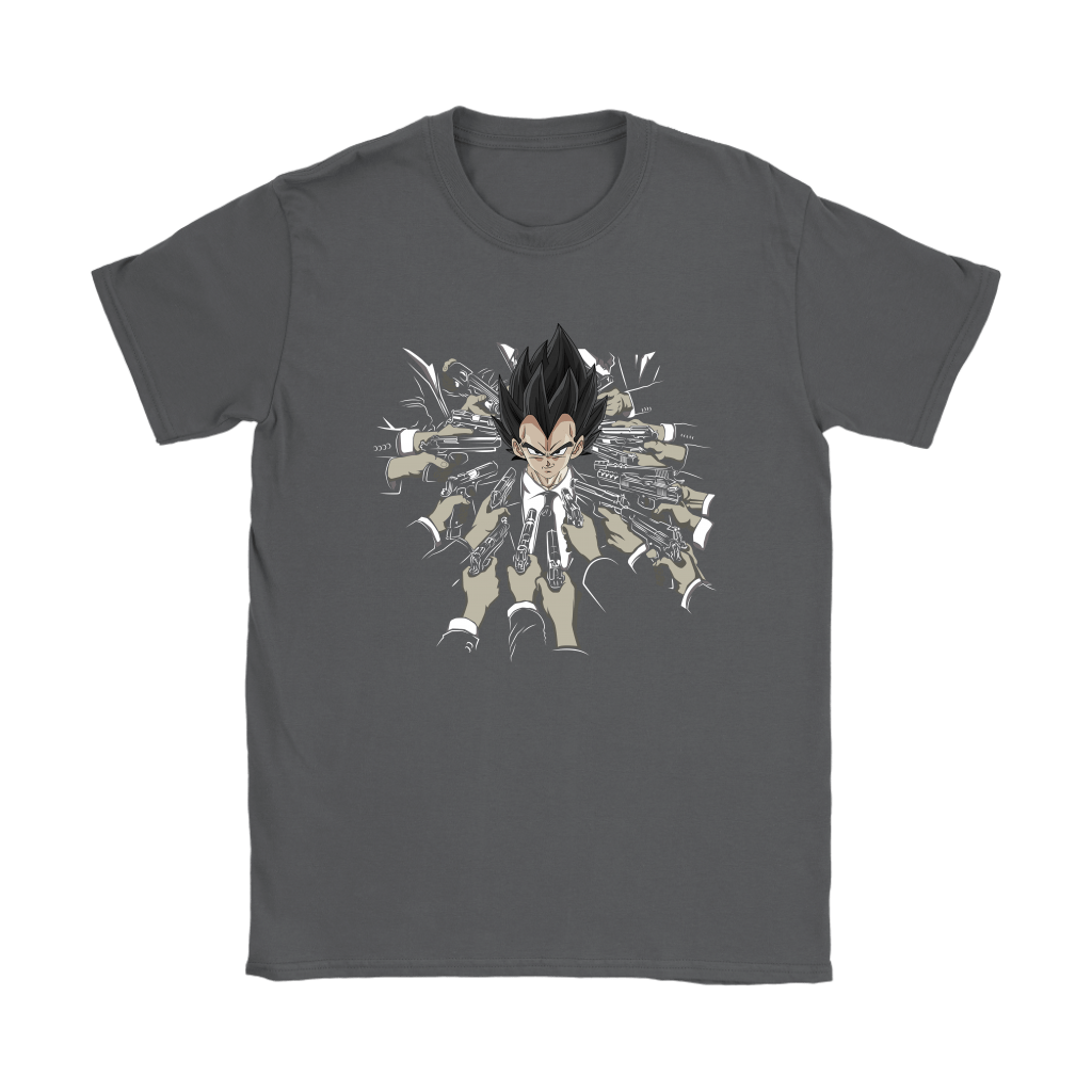 Vegeta Dragon Ball John Wick Shirts 6