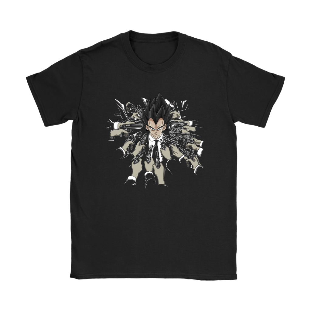 Vegeta Dragon Ball John Wick Shirts 12