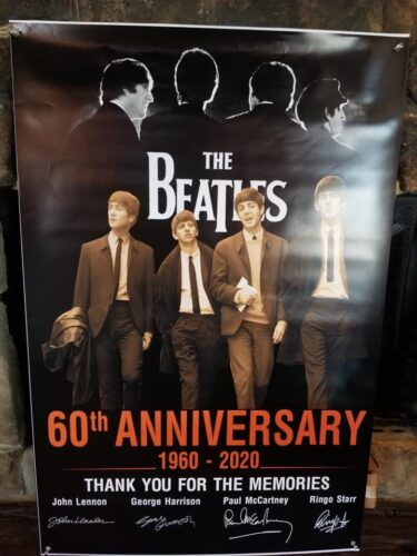 The Beatles 60th Anniversary Thank You For The Memories Posters photo review
