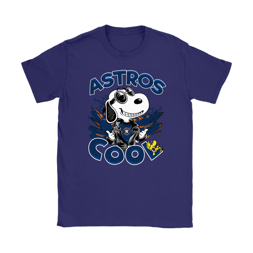 Houston Astros Snoopy Joe Cool We're Awesome Shirts 11