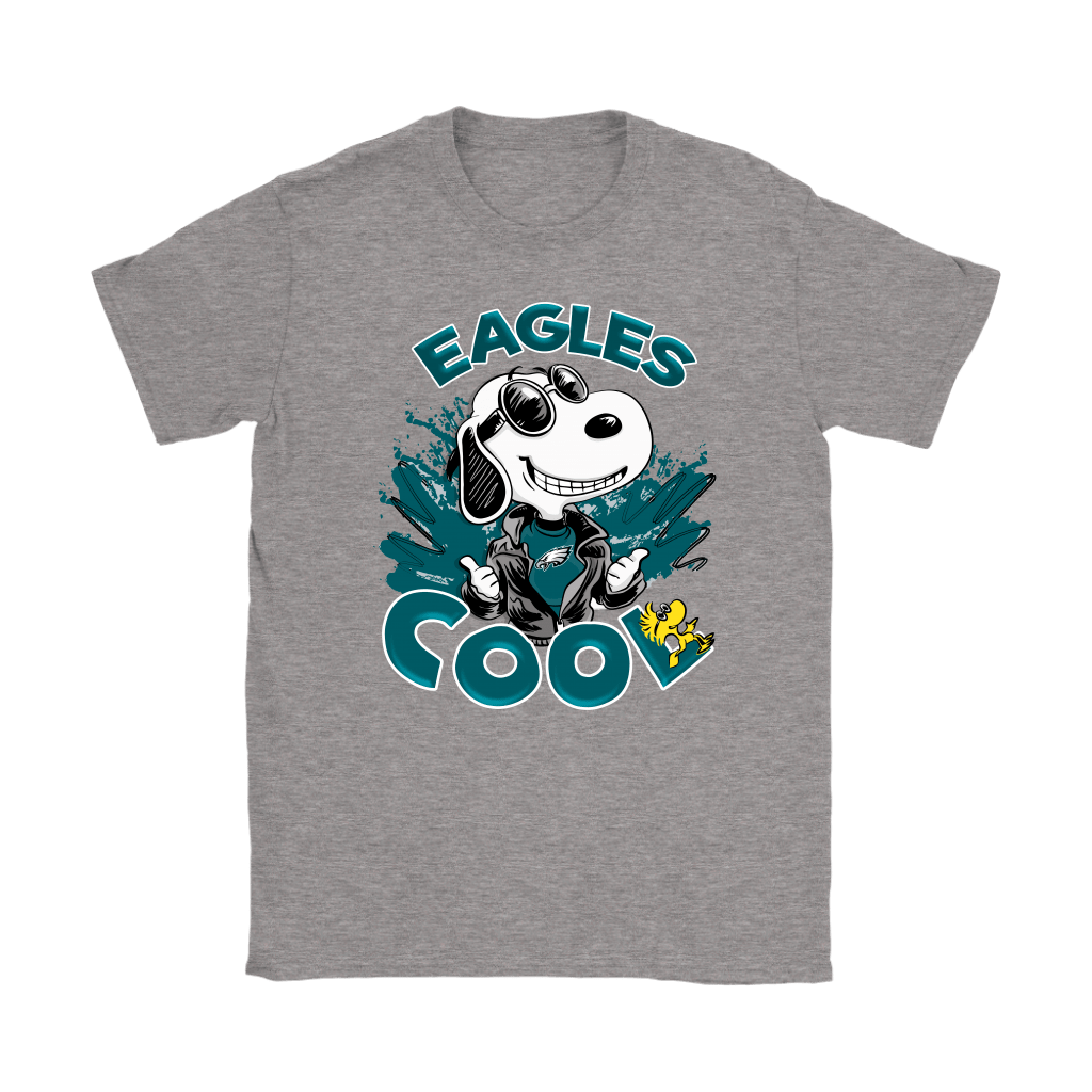 Philadelphia Eagles Snoopy Joe Cool We're Awesome Shirts 14