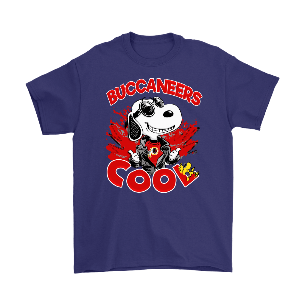 Tampa Bay Buccaneers Snoopy Joe Cool We're Awesome Shirts 4