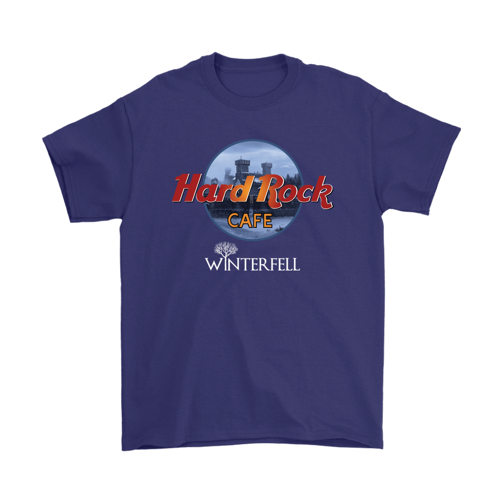 Hard Rock Cafe Winterfell Game Of Thrones Shirts 4