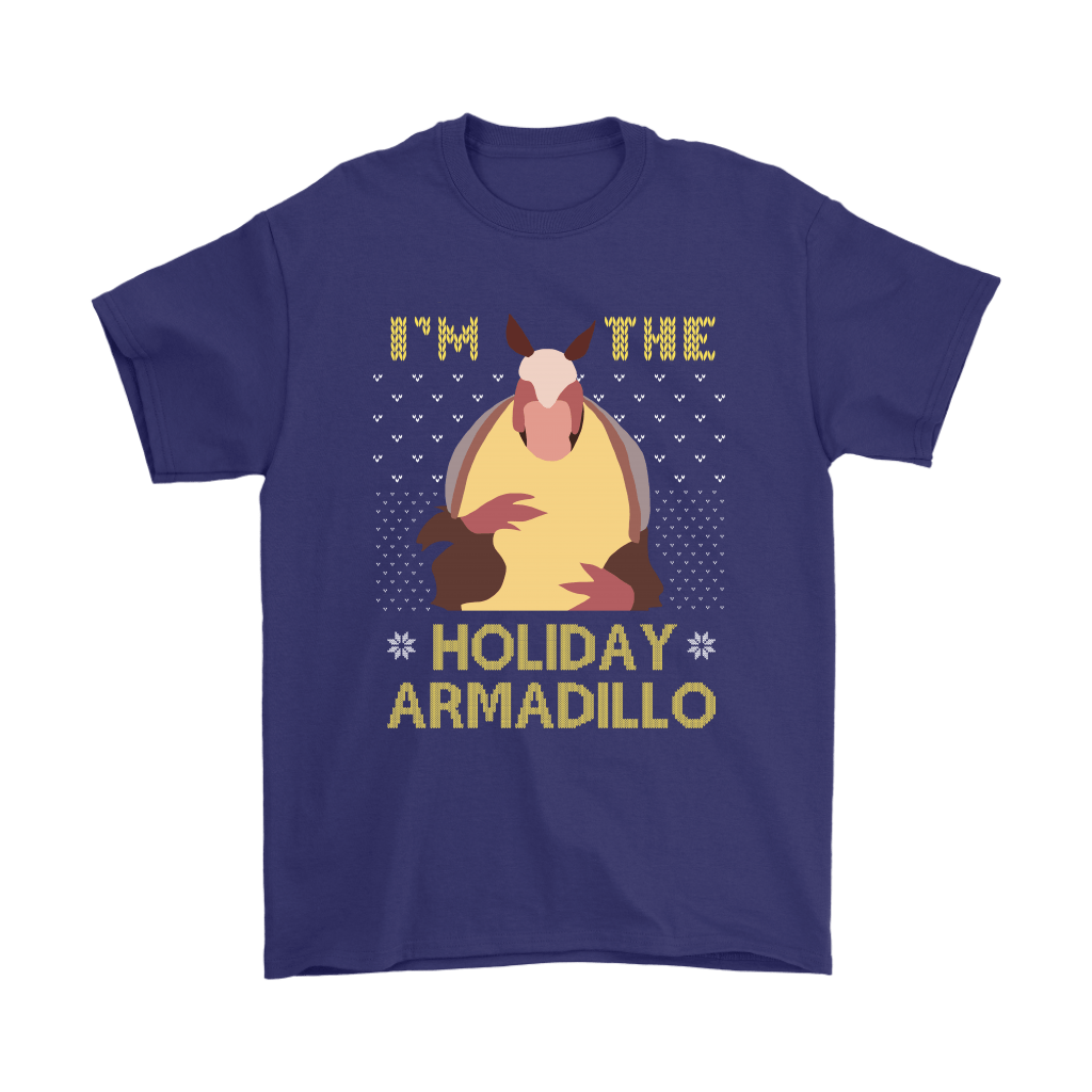 I'm The Holiday Armadillo F.R.I.E.N.D.S Christmas Holiday Shirts 4
