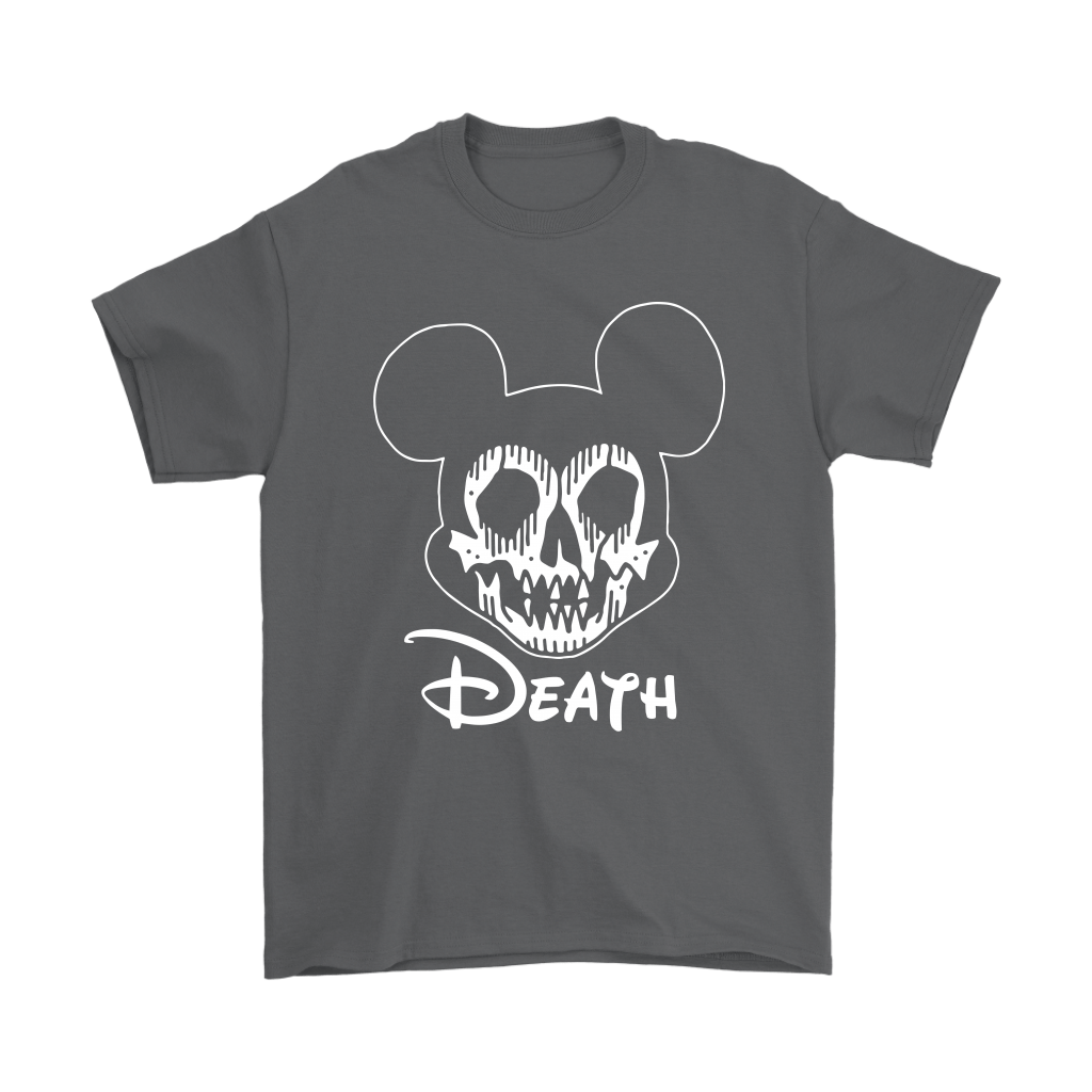 Disney Mickey Mouse Logo Death Mouse Metalhead Shirts 2