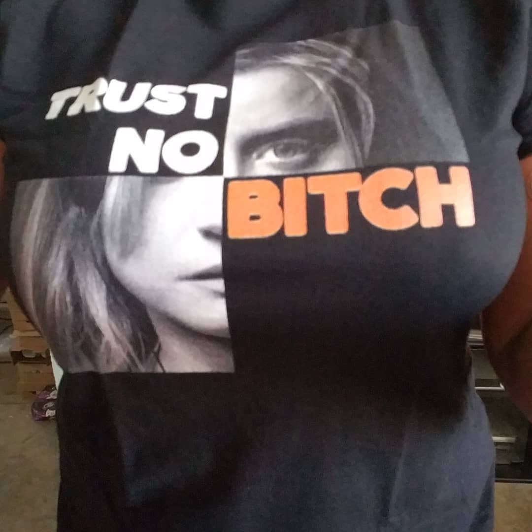 Orange Is the New Black Trust No Bitch Shirts photo review