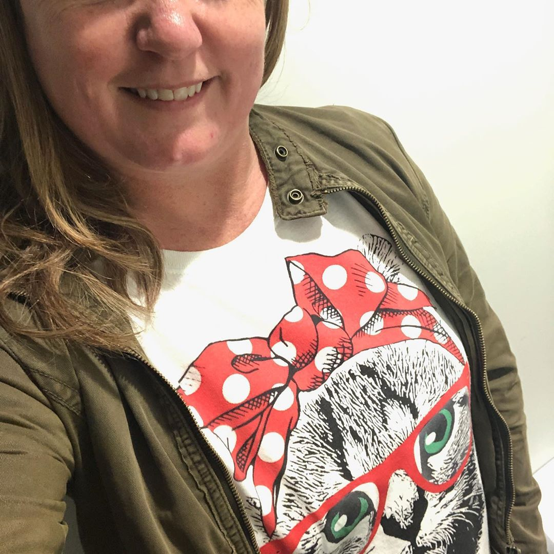 We Can Do It Strong Cat Lady Strong Woman Shirts photo review