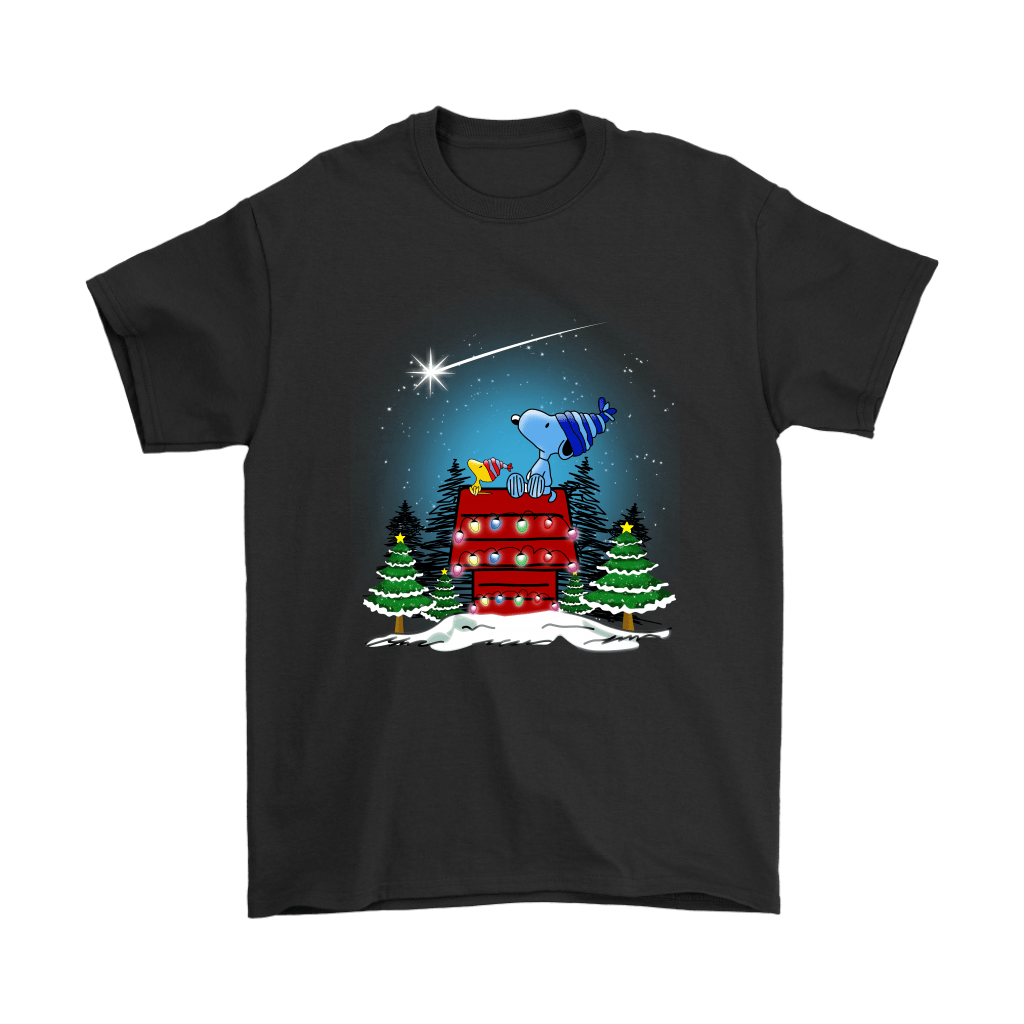 Watch The Shooting Star Woodstock And Snoopy Christmas Shirts 1