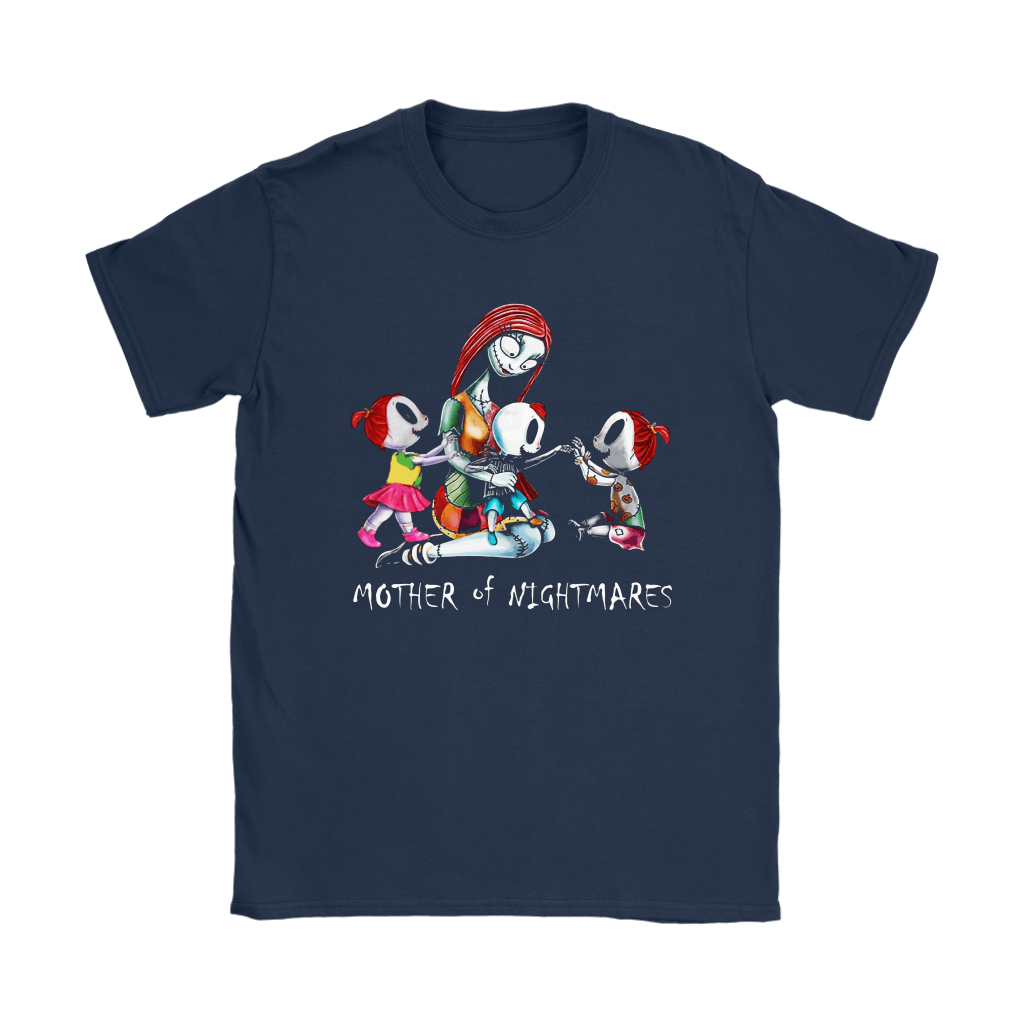 Sally Mother Of Nightmares Three Children Funny Family Shirts 7