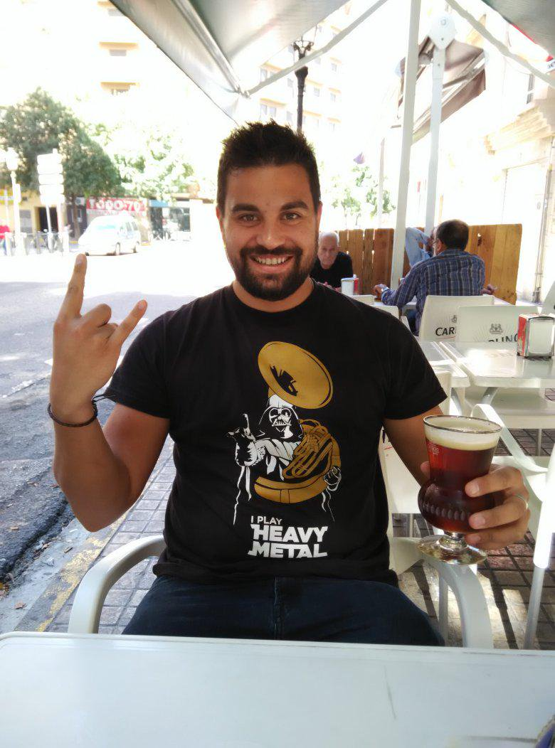 I Play Heavy Metal French Horn Darth Vader Star Wars Shirts photo review