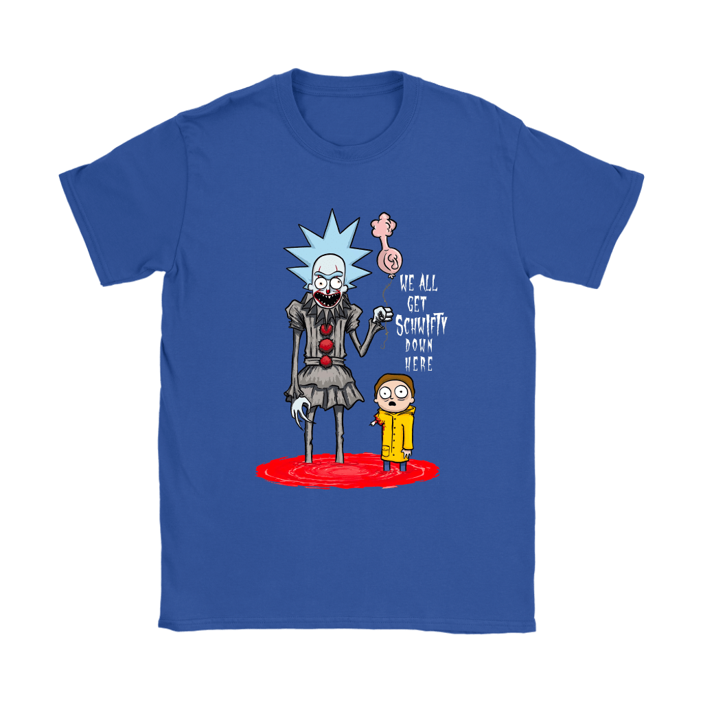Rick And Morty Pennywise Horror Mashup Shirts 11