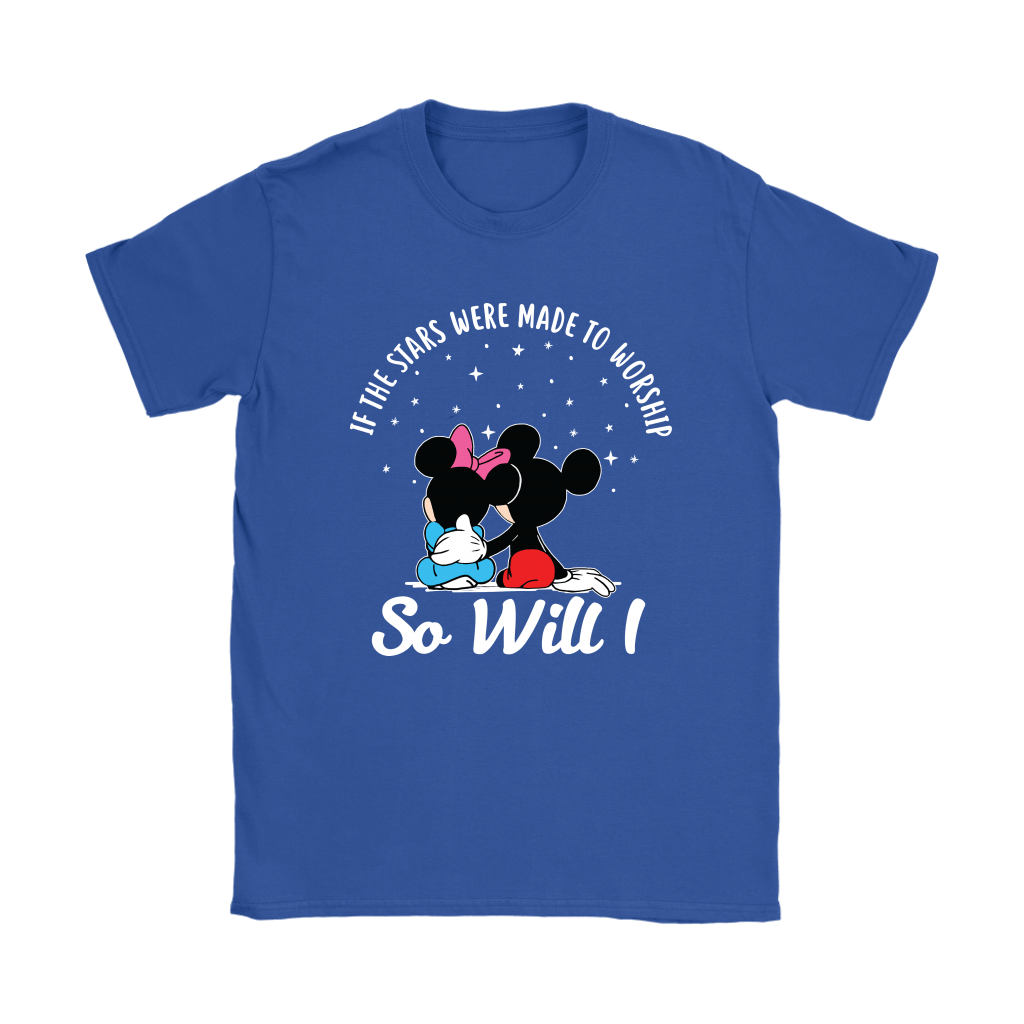 If The Stars Were Made To Worship So Will I Mickey And Minnie Shirts 14