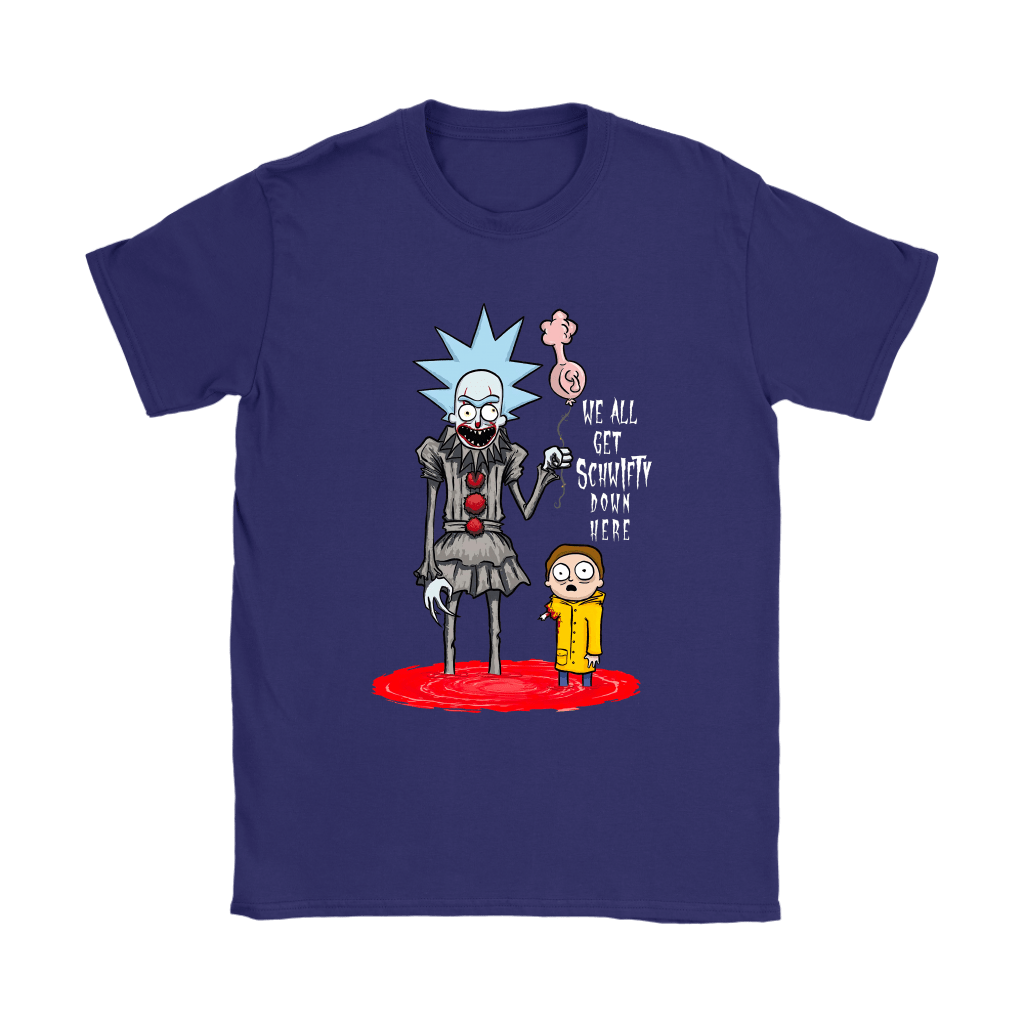 Rick And Morty Pennywise Horror Mashup Shirts 10