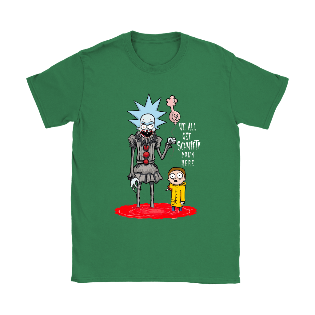 Rick And Morty Pennywise Horror Mashup Shirts 12