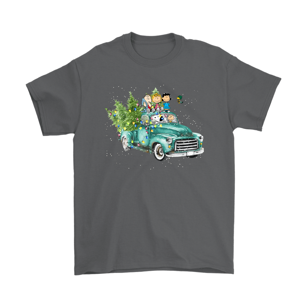 Snoop And The Peanuts Drive Home With The Christmas Trees Shirts 2