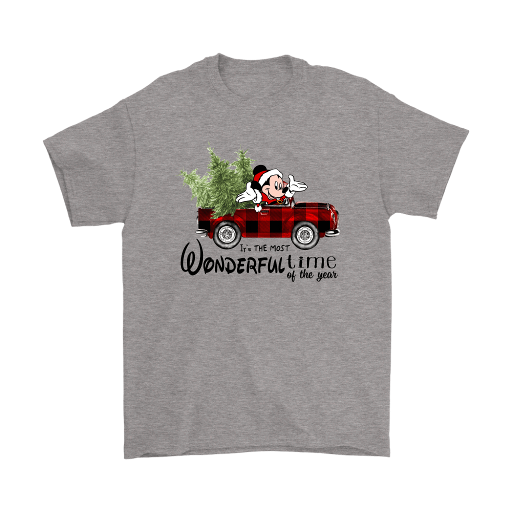 It's The Most Wonderful Time Of The Year Mickey Christmas Shirts 1