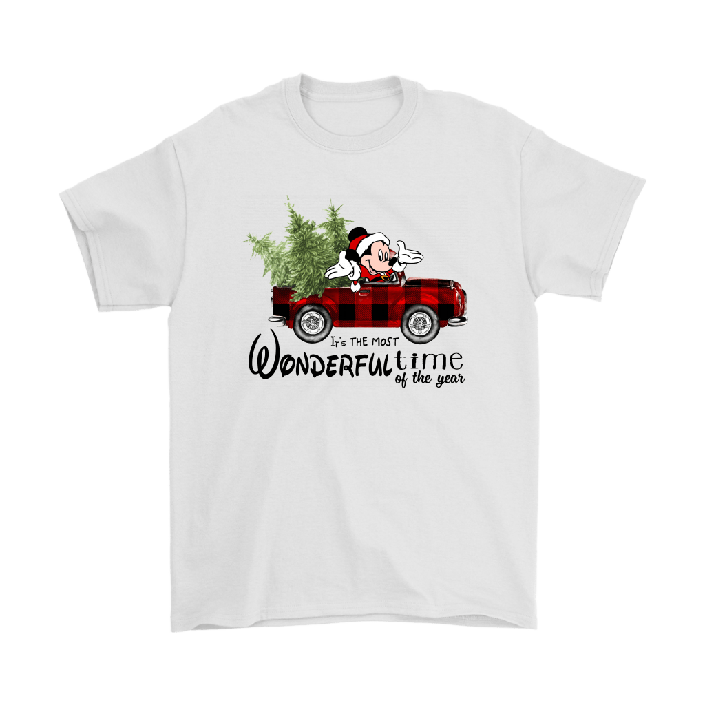 It's The Most Wonderful Time Of The Year Mickey Christmas Shirts 2
