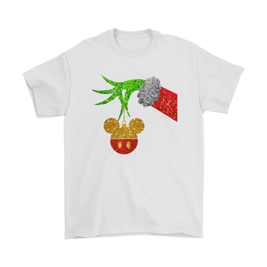 The Grinch Steals Christmas Mickey Mouse Shirts 7