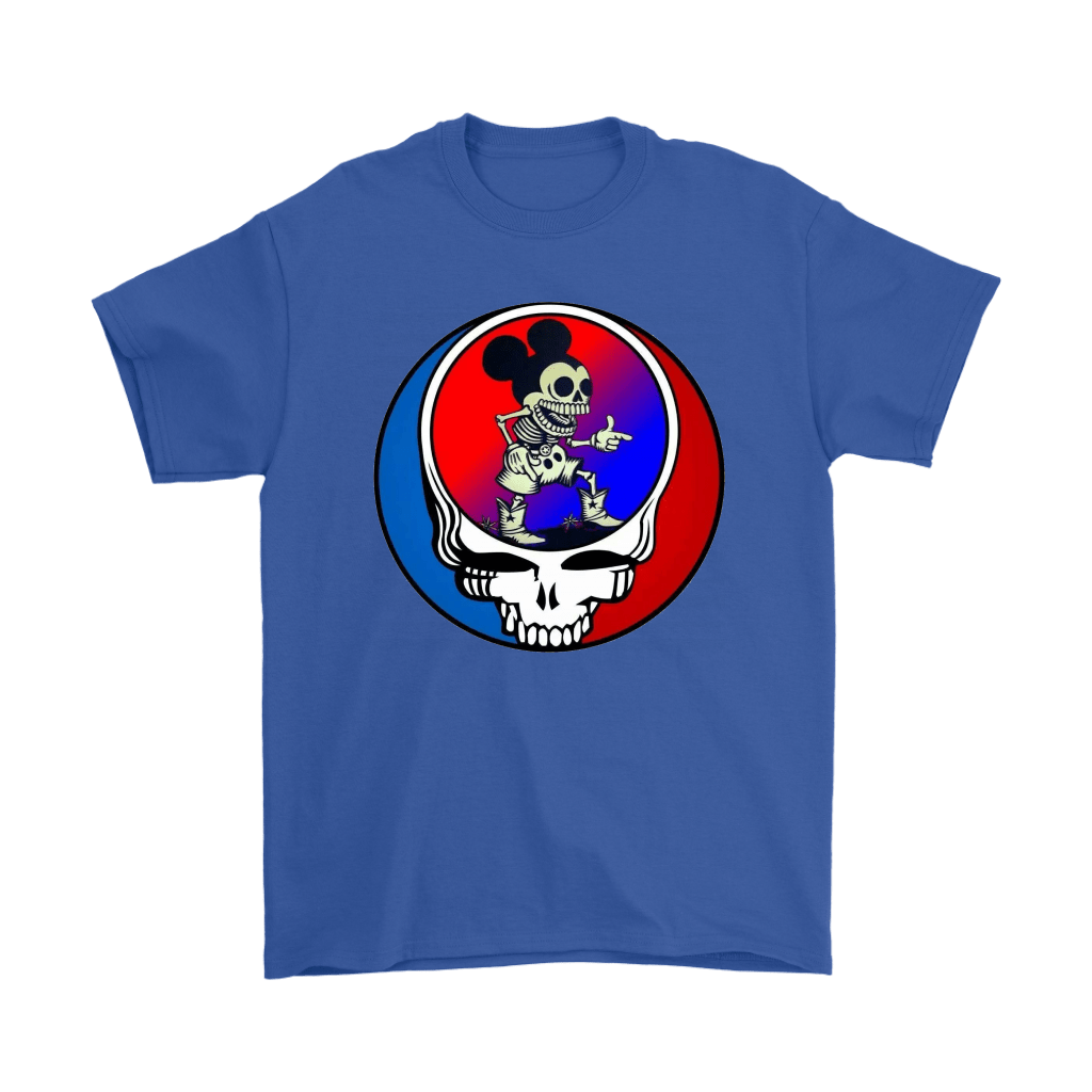 Skeleton Mickey Mouse Grateful Dead Halloween Shirts 5