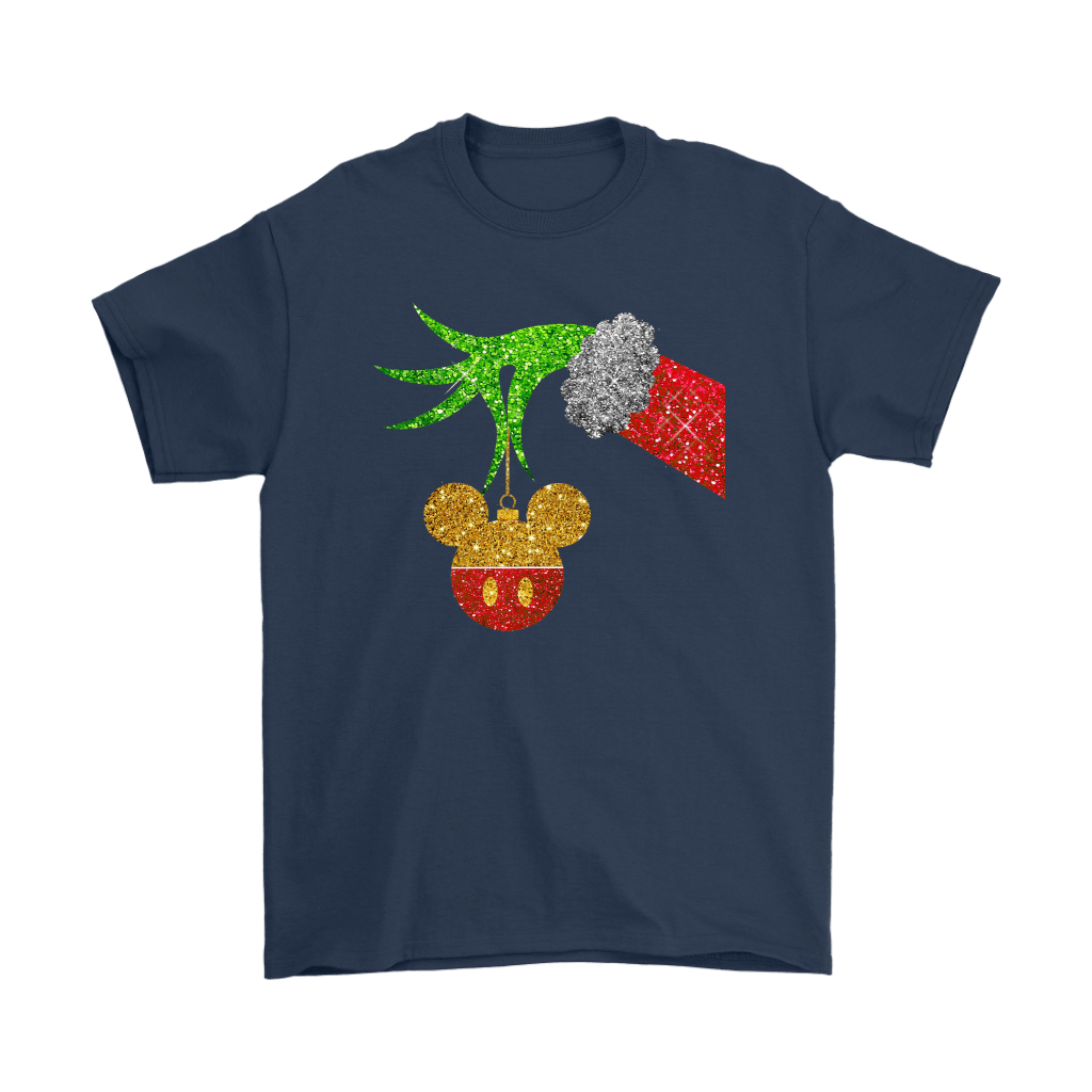The Grinch Steals Christmas Mickey Mouse Shirts 3
