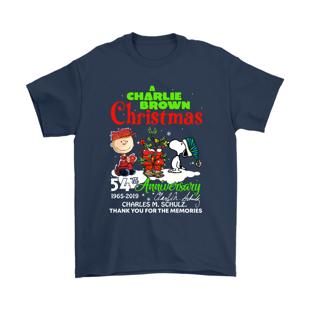 A Charlie Brown Christmas 54th Anniversary Snoopy Shirts 3