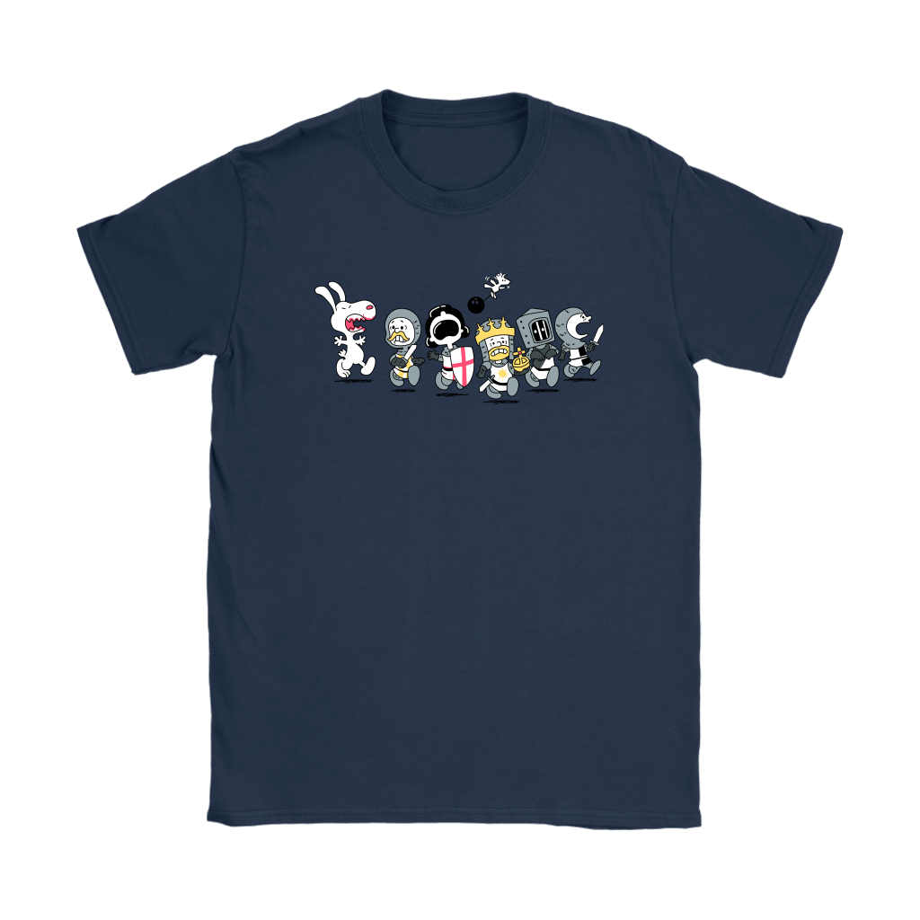 The Killer Rabbit of Caerbannog Monty Python Snoopy Shirts 5
